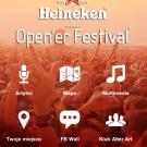 Aplikacja: Opener 2011 - Ekran główne menu