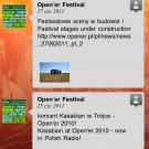 Aplikacja: Opener 2011 - Ekran Wall FB
