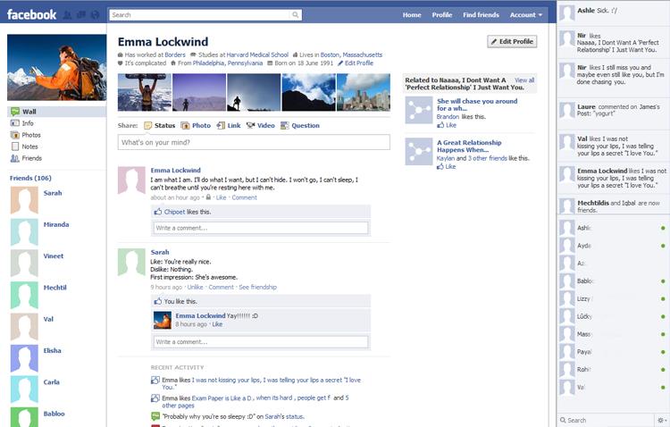 Facebook w 2011 roku