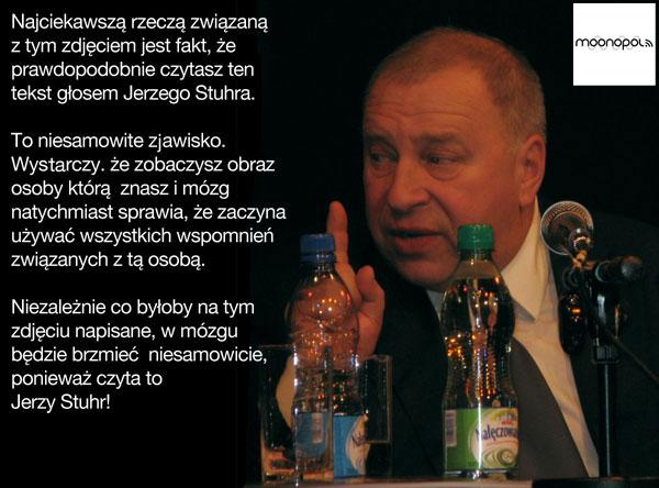Jerzy Stuhr czyta