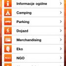 Aplikacja: Opener 2011 - Ekran wybór informacji