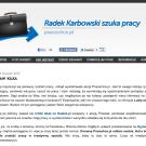 Szukam pracy - Radek Karbowski